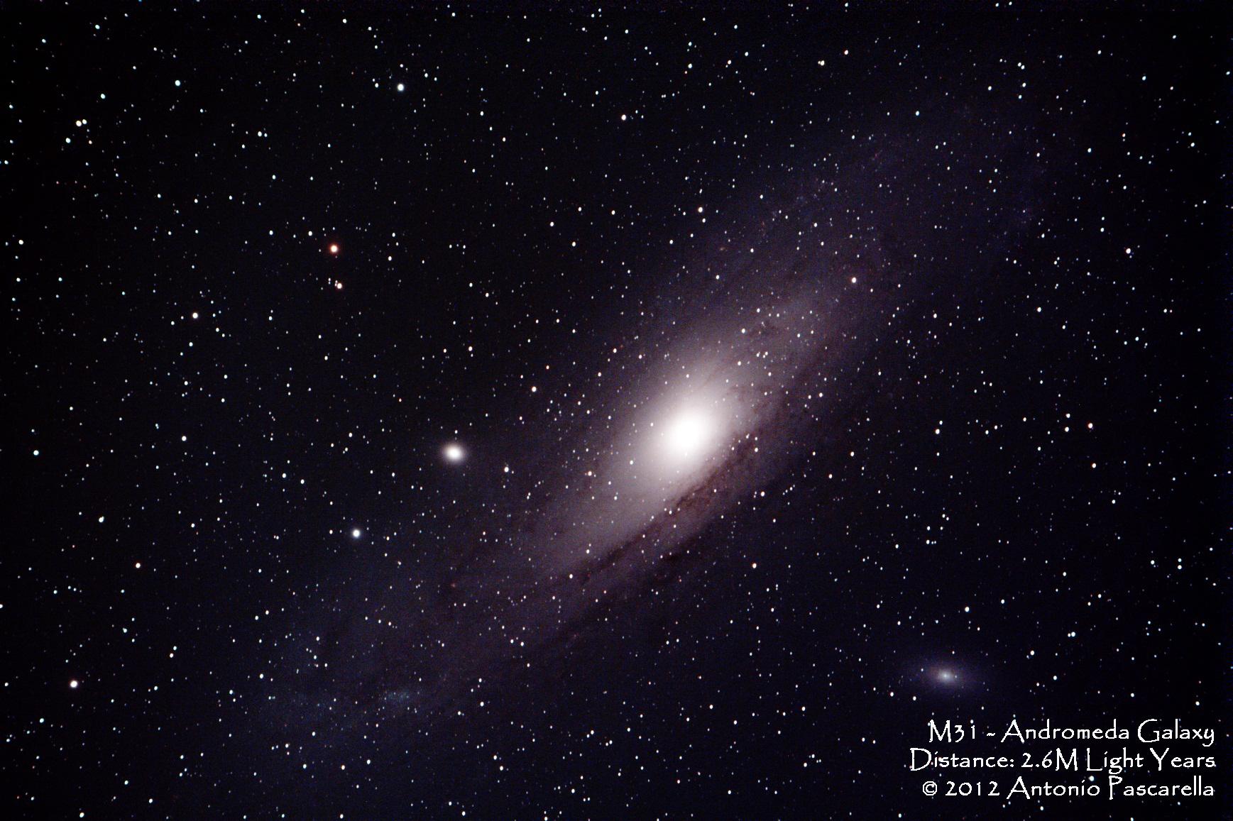 ultra high resolution andromeda galaxy - photo #1